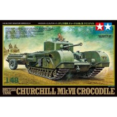 British Tank Churchill Mk.VII Crocodile
