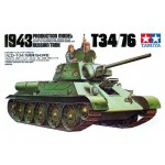 Russian Tank T-34/76, 1943 Production Model