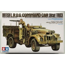 British L.R.D.G. Command Car 30cwt truck