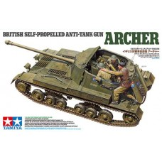 British Self-Propelled Anti-Tank Gun Archer