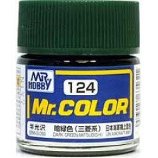 Mr.Color 124 Dark Green (Mitsubishi)
