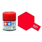 Tamiya Color X-27 Clear Red