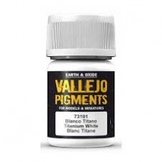 Vallejo Pigments 73101 Titanium White