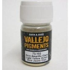 Vallejo Pigments 73102 Light Yellow Ochre