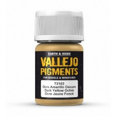Vallejo Pigments 73103 Dark Yellow Ochre