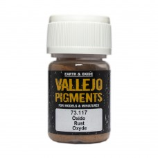 Vallejo Pigments 73117 Rust