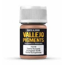 Vallejo Pigments 73119 European Earth