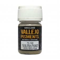 Vallejo Pigments 73122 Faded Olive Green