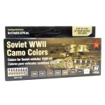 Vallejo 71.188 Soviet WWII Camo Colors Vehicles 1935-45