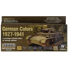Vallejo 71.205 German Colors for Vehicles 1927-1941