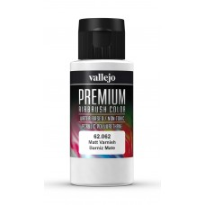 Vallejo 62.062 Premium Airbrush Matt Varnish 60ml