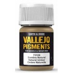 Vallejo Pigments 73109 Natural Umber