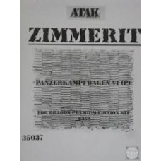 Panzerkampfwagen VI (P) Zimmerit 1/35