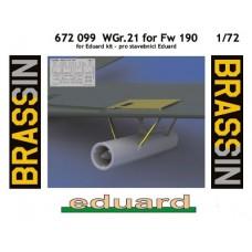 Eduard Brassin WGr.21 for Fw190. 1/72