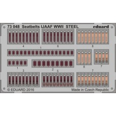 Eduard Seatbelts IJAAF WWII Steel 1/72