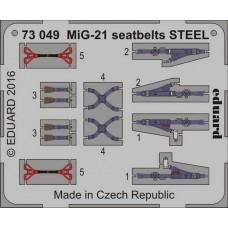 Eduard Seatbelts MiG-21 Steel 1/72