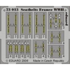 Eduard Seatbelts France WWII 1/72
