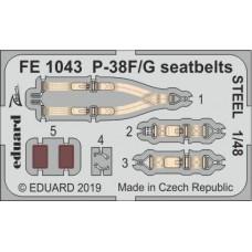 Eduard Seatbelts P-38F/G 1/48 STEEL