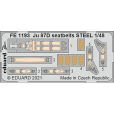 Eduard Seatbelts Ju 87D 1/48 Steel.