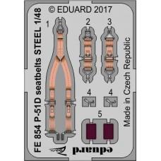 Eduard Seatbelts P-51D 1/48 STEEL (Airfix)