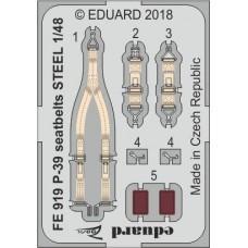 Eduard Seatbelts P-39 1/48 STEEL