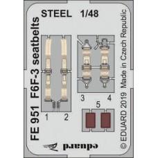 Eduard Seatbelts F6F-3 1/48 Steel