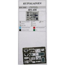 Kuivalainen 1/72 MS.406 Photo etched parts
