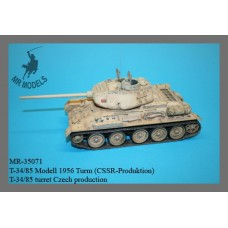 T-34/85 turret Model 1956 CSSR-production