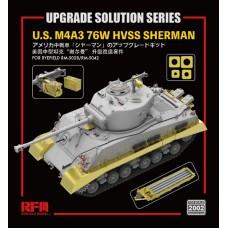 Upgrade Solution U.S. M4A3 76W HVSS Sherman