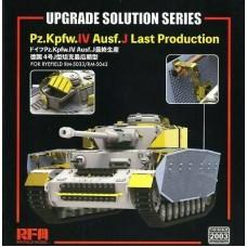 Upgrade Solution Pz.Kpfw.IV Ausf.J Last Production