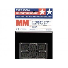 Tamiya 35167 Ger. King Tiger Photo Etched Grille Set