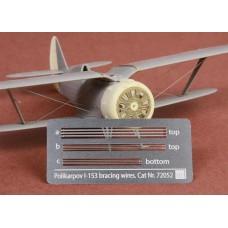 Polikarpov I-153 Chaika Rigging wire set for ICM/REVELL kit
