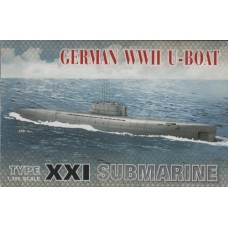 German WWII U-Boat Type XXI Submarine