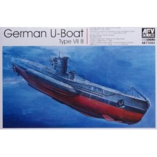 German WWII U-Boat Type VII B