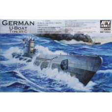 German WWII U-Boat Type VII C