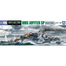 British Destroyer HMS Jupiter SP