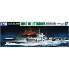 British Aircraft Carrier HMS Illustrious