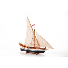 LE MARTEGAOU - Wooden hull 1:80