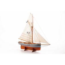 HENRIETTE MARIE - Wooden hull 1:50