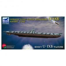 German Long Range Submarine U-IXB
