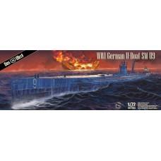 WWI German U-Boat SM U-9