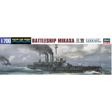 Japanese Navy Battleship Mikasa