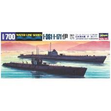 Japanese Navy Submarine I-361 & I-171
