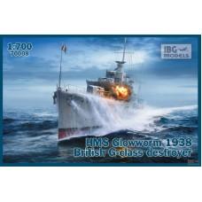 HMS Glowworm 1938 British G-class Destroyer