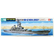 U.S. Navy Battleship BB-62 New Jersey