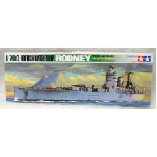 British Battleship Rodney