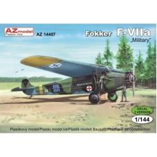 """Fokker F-VIIA """"Military"""""""