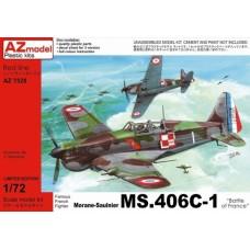 "Morane-Saulnier MS.406C-1 ""Battle of France"""