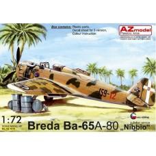 "Breda Ba-65 A-80 ""Nibbio"" in Italian Service"