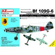 """Messerschmitt Bf 109G-6 """"Jagdgeschwader JG.300 Wilde Sau"""" Part.III"""